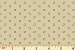 Andover Fabrics - Trinkets - Orbits - Cream (8629/L)