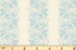 Andover Fabrics - Something Blue - Wreath - Promise (8827/L)