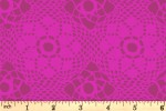Andover Fabrics - Handiwork - Crochet - Plum (9253/P)