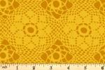 Andover Fabrics - Sunprints 2021 - Crochet - Sunshine (9253/Y)