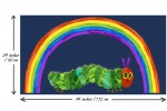 Andover Fabrics - The Very Hungry Caterpillar - Rainbow Caterpillar Panel - Blue (9597/B)