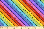 Andover Fabrics - The Very Hungry Caterpillar - Rainbow Fancy - Night (9831/B)