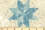 Andover Fabrics - Bluebird - North Star - First Snow (9848/LB)