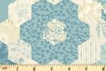 Andover Fabrics - Bluebird - Grandmothers Garden - Mountain Blue (9849/B)