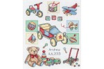 Anchor - Birth Record - Boy (Cross Stitch Kit)