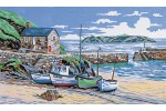 Anchor - Mullion Cove, Cornwall (Tapestry Kit)