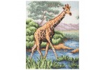 Anchor - Giraffe (Cross Stitch Kit)
