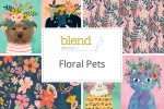 Blend Fabrics - Floral Pets Collection