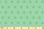 Blend Fabrics - Daydream - Star Geo - Green (1)