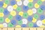 Blend Fabrics - Daydream - Floating Parasols - Grey (1)