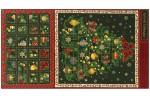 Benartex - Christmas Panels - Traditional Tree Advent Panel (71602-M)