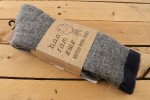 Baa Ram Ewe - British Wool Socks - Yorkshire Grey - L (UK 8-11)
