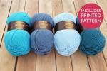 Attic24 - Blue Bunting (Stylecraft Yarn Pack)