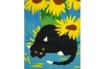 Bothy Threads - Curious Long Stitch Cats - Socks (Long Stitch Kit)