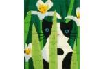 Bothy Threads - Curious Long Stitch Cats - Felix (Long Stitch Kit)