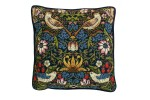 Bothy Threads - William Morris - Strawberry Thief (Printed Tapestry Kit)
