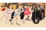 Bothy Threads - Taxi!  (Cross Stitch Kit)