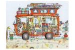 Bothy Threads - Cut Thru' Camper Van (Cross Stitch Kit)