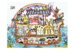 Bothy Threads - Cut Thru' Noah's Ark (Cross Stitch Kit)