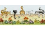 Bothy Threads - Lazy Cats (Cross Stitch Kit)