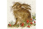Bothy Threads -  Hippy Hare (Cross Stitch Kit)