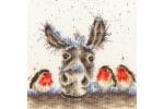 Bothy Threads -  Christmas Donkey (Cross Stitch Kit)