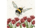 Bothy Threads -  Flight of the Bumblebee (Cross Stitch Kit)