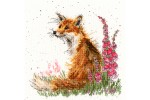 Bothy Threads -  Amongst the Foxgloves (Cross Stitch Kit)