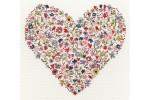 Bothy Threads -  Love Heart (Cross Stitch Kit)