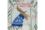 Bothy Threads - Christmas Cards - Xmas Moose (Cross Stitch Kit)