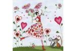 Bothy Threads - Miss Heart (Cross Stitch Kit)