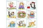 Bothy Threads - It's A Cat's Life (Cross Stitch Kit)
