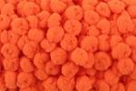 Pom Pom Trim - 15mm - Orange (per metre)
