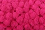 Pom Pom Trim - 15mm - Hot Pink (per metre)