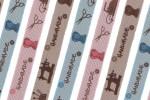 Berties Bows Design Ribbons - Cotton (3m reel)