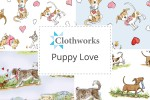 Clothworks - Puppy Love