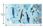 Clothworks - Oceans Away - Ocean Scene Panel (Y2926-55)