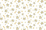 Clothworks - Just What I Wanted - Stars - White (Y2980-1)