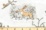 Clothworks - Guess How Much I Love You - Wintery Scenes - Soft Grey (Y3080-118)