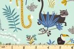 Clothworks - Jungle Jive - Animals - Aqua (Y3111-100)