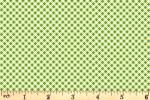 Clothworks - Leap Frog - Gingham - Green (Y3128-24)
