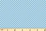 Clothworks - Leap Frog - Gingham - Blue (Y3128-88)
