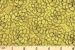 Clothworks - Imagine - Succulents - Gold (Y3425-68)