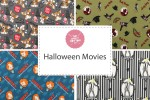Craft Cotton Co - Halloween Movies Collection