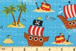 Craft Cotton Co - Quilting Cotton Prints - Ship Ahoy (2134-00)