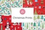 Craft Cotton Co - Christmas Prints Collection