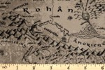 Craft Cotton Co - The Lord of the Rings - Middle Earth Map (23220204-01)