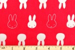 Craft Cotton Co - Miffy Bedtime - Miffy Faces (2453-02)