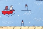 Craft Cotton Co - Miffy Holiday - Boat (2502-02)