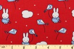 Craft Cotton Co - Miffy Holiday - Flying Kites (2502-05)